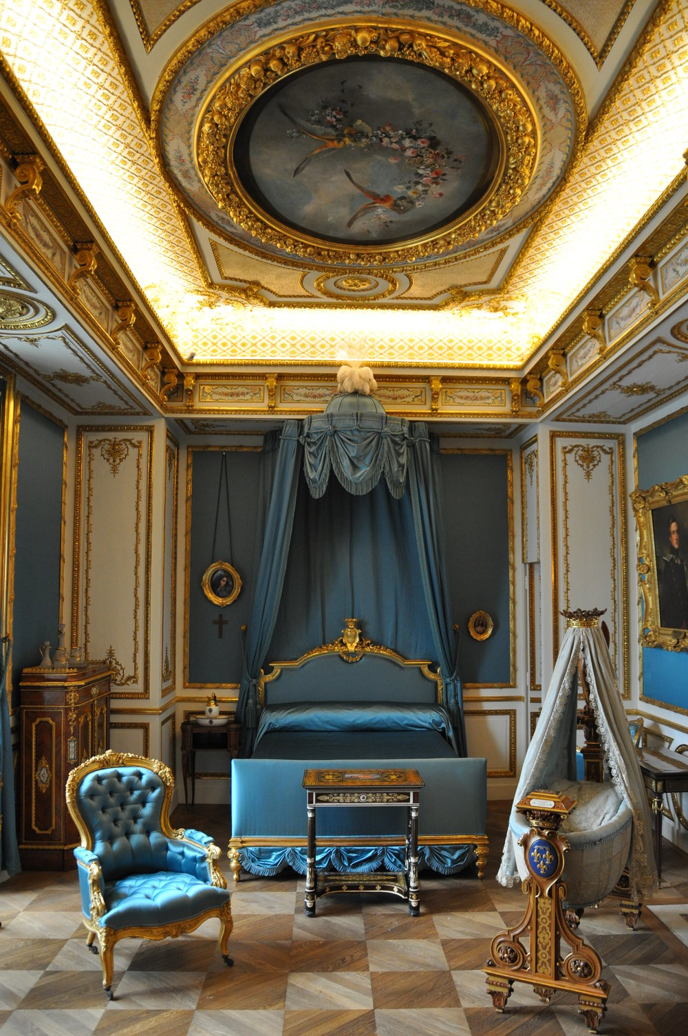 The Duchess' bedroom © Grand Palais Domaine de Chantilly