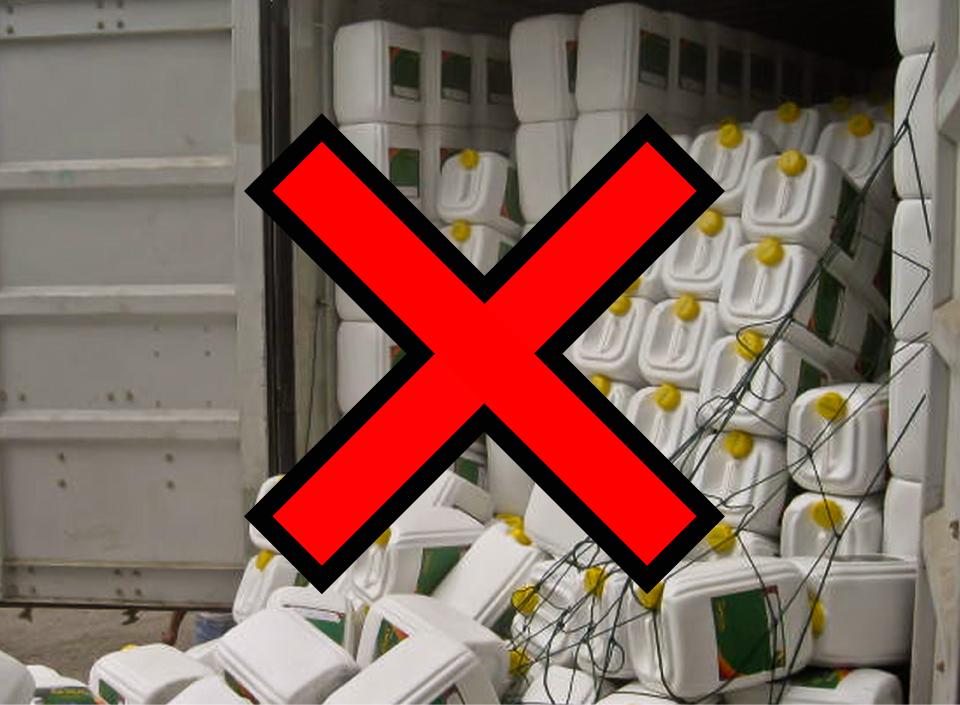 Kelalaian saat memuat cargo dapat menyebabkan kecelakaan