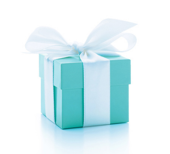 The Tiffany Blue box