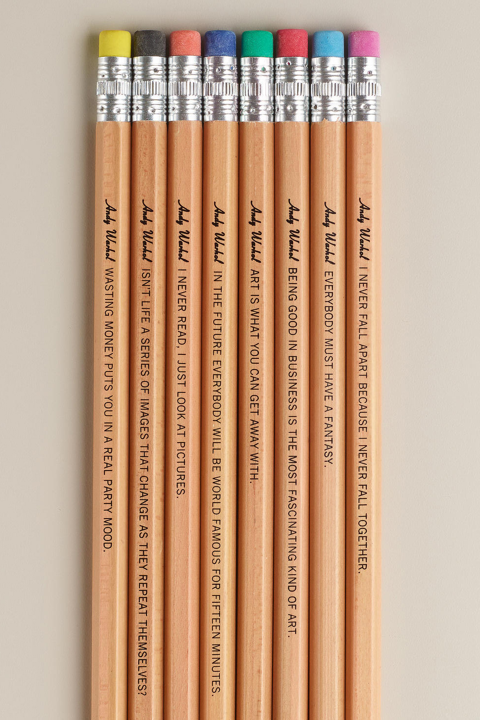 karenhurley :      Warhol Philosophy Pencils