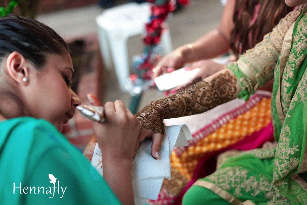 Bridal Henna for Avisha
