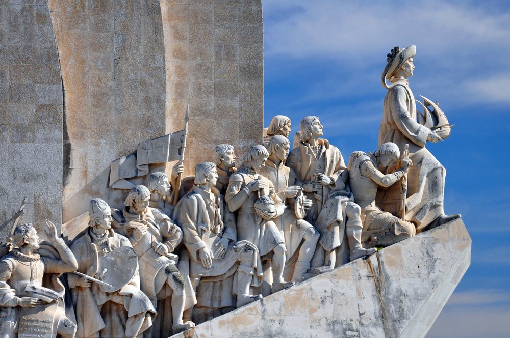 The Monument to the Discoveries in Lisbon remembers a different sort of discovery.  Even the famous discoverers depicted here wouldn't be able to find the discovery materials in New York criminal cases - mainly because there is no such thing as discovery materials in New York criminal cases.  Perhaps after Ponce De Leon locates the Fountain of Youth, he will find some of the police reports criminal defense lawyers in New York are looking for.