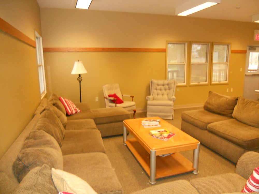 Main House Lodge- Living Area