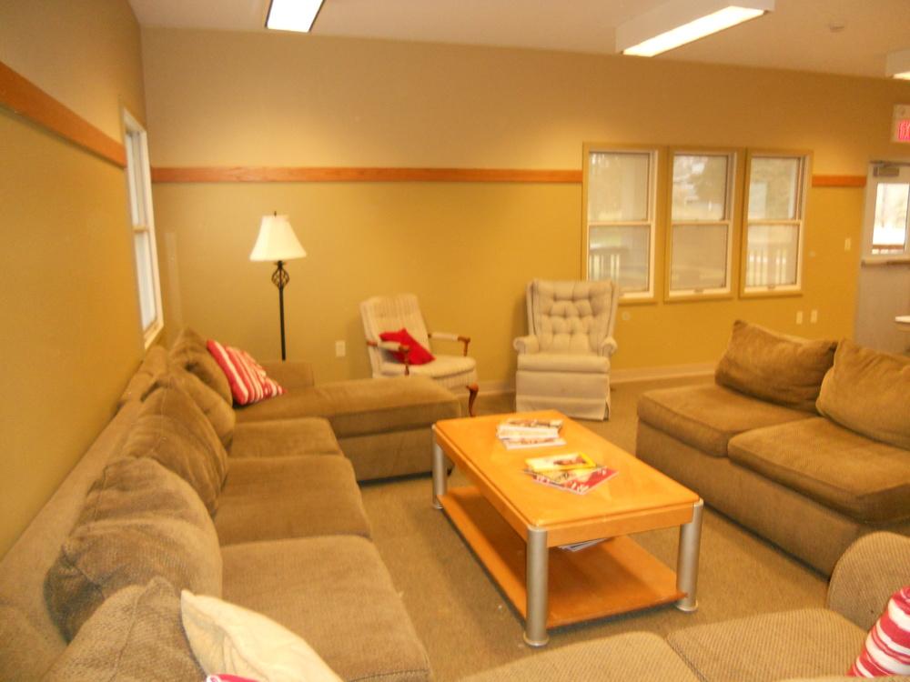 Main House Lodge- Living Area