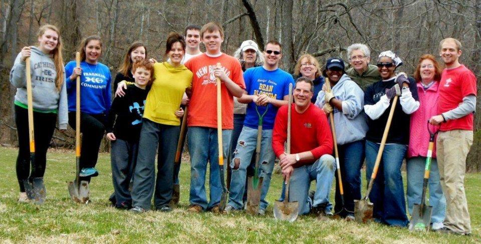 RSVP for the April Volunteer Weekend