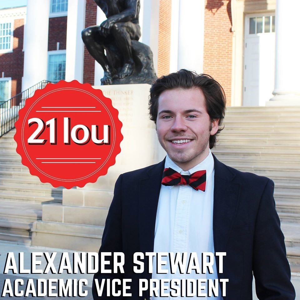 "This semester our brother Alex Stewart ran for a huge campus position. He ran against many great opponents for the position of Academic Vice President. Stewart is one of the most dedicated men I know and a brilliant one at that. No matter the position or role he acquires, he finds a way to improve it in some sort of manner. We as a chapter are very proud of Brother Stewart's accomplishments and victory at winning Academic Vice President.        Normal   0           false   false   false     EN-US   X-NONE   X-NONE                                                                                                                                                                                                                                                                                                                                                                                                                                                                                                                                                                                                                                                                                                                                                                                                                                                               /* Style Definitions */  table.MsoNormalTable 	{mso-style-name:""Table Normal""; 	mso-tstyle-rowband-size:0; 	mso-tstyle-colband-size:0; 	mso-style-noshow:yes; 	mso-style-priority:99; 	mso-style-parent:""""; 	mso-padding-alt:0in 5.4pt 0in 5.4pt; 	mso-para-margin-top:0in; 	mso-para-margin-right:0in; 	mso-para-margin-bottom:8.0pt; 	mso-para-margin-left:0in; 	line-height:107%; 	mso-pagination:widow-orphan; 	font-size:11.0pt; 	font-family:""Calibri"",sans-serif; 	mso-ascii-font-family:Calibri; 	mso-ascii-theme-font:minor-latin; 	mso-hansi-font-family:Calibri; 	mso-hansi-theme-font:minor-latin;}           Upcoming Birthdays:     Reese Tannhauser – March 28th    Dan Nguyen – March 12th    Chris Bell – March 9th    Jonathon Lynch – March 28th    Joe Dawson – March 18th    Caleb Mabry – March 20th    Connor Kunsman – March 4th    Gregory Rice – March 5th    Cameron Morris – March 10th          Contact     Chris Brown –    chris.brown1221@gmail.com     Ray White –    rpwhit06@louisville.edu                          Normal   0           false   false   false     EN-US   X-NONE   X-NONE                                                                                                                                                                                                                                                                                                                                                                                                                                                                                                                                                                                                                                                                                                                                                                                                                                                               /* Style Definitions */  table.MsoNormalTable 	{mso-style-name:""Table Normal""; 	mso-tstyle-rowband-size:0; 	mso-tstyle-colband-size:0; 	mso-style-noshow:yes; 	mso-style-priority:99; 	mso-style-parent:""""; 	mso-padding-alt:0in 5.4pt 0in 5.4pt; 	mso-para-margin-top:0in; 	mso-para-margin-right:0in; 	mso-para-margin-bottom:8.0pt; 	mso-para-margin-left:0in; 	line-height:107%; 	mso-pagination:widow-orphan; 	font-size:11.0pt; 	font-family:""Calibri"",sans-serif; 	mso-ascii-font-family:Calibri; 	mso-ascii-theme-font:minor-latin; 	mso-hansi-font-family:Calibri; 	mso-hansi-theme-font:minor-latin;}"