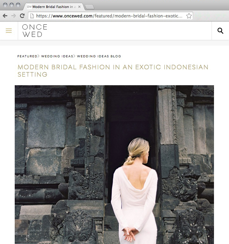 On a trip to Central Java, Katie Grant Photography, Paulina Katarina and the beautiful Katya Kasatkina were the main muses fort his incredible shoot.   Shot amidst the thousand temples that makes up Prambahman.