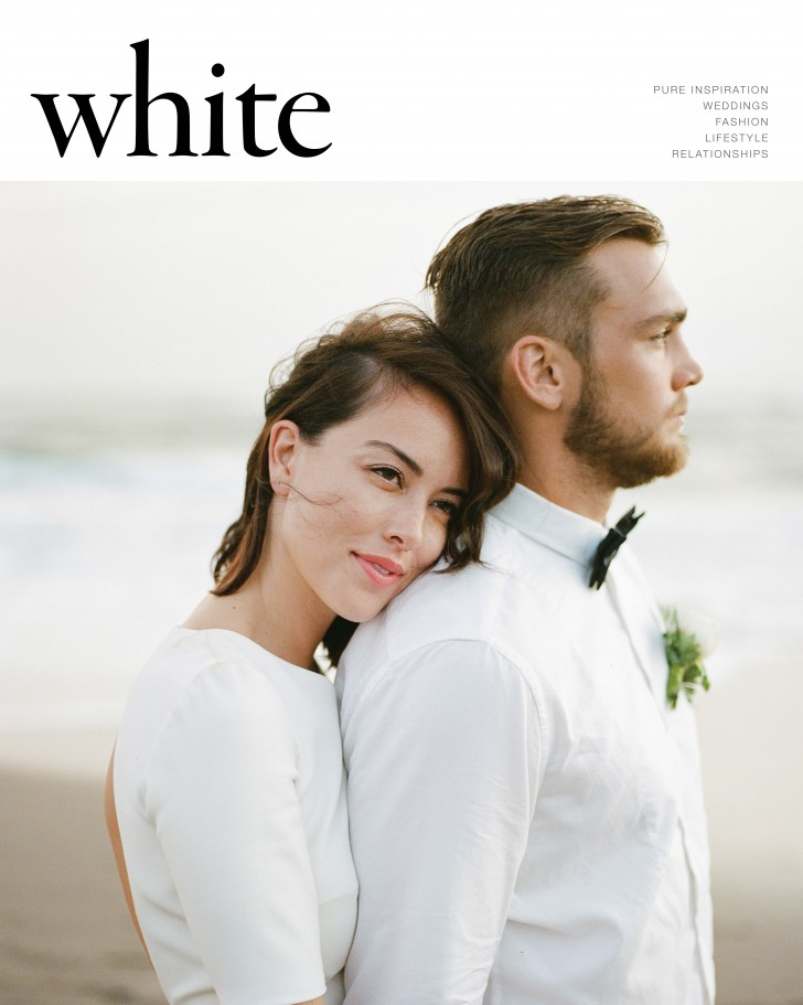 Chloe and Jason, shot by The Rare Negatives made the front cover of White Mag and a full feature.