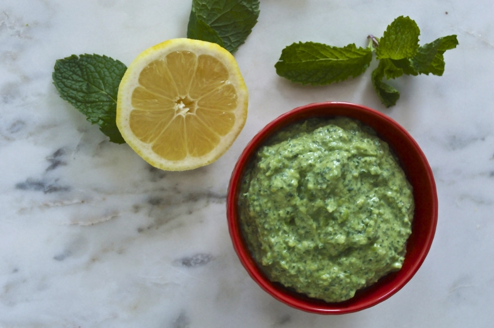 spring-pea-mint-ricotta-lemon-dip-overhead-molasses-and-mayhem.jpg