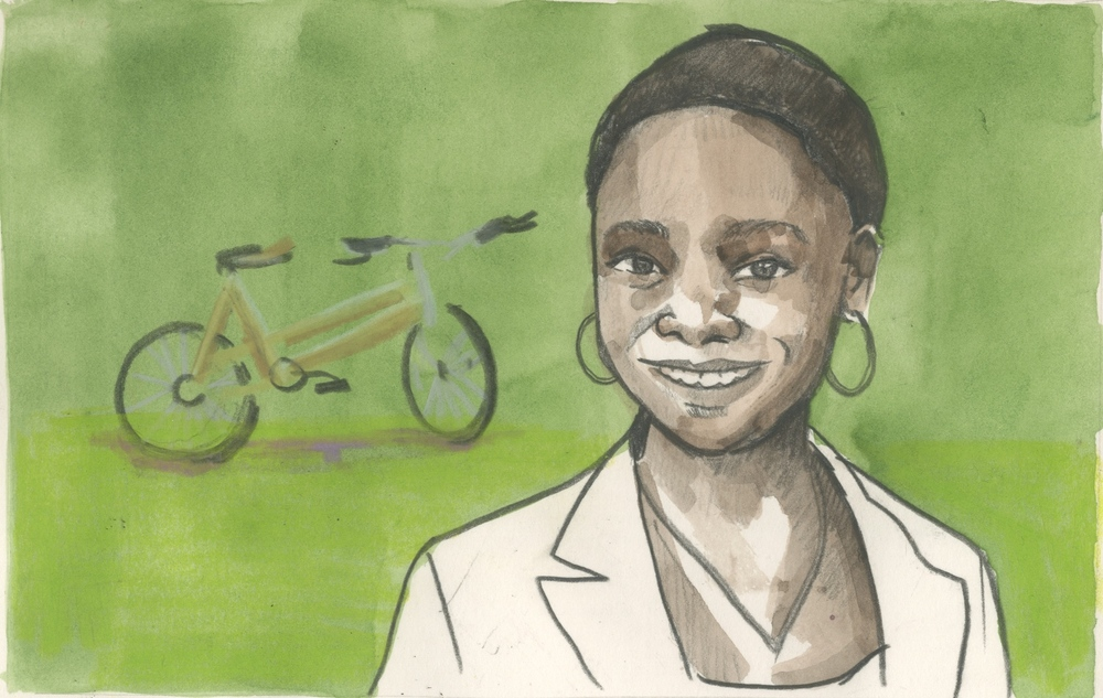 13/02/15 Winnie Selby was just 17 years old when she co-founded Afrocentric Bamboo, a company that manufactures and markets bicycles made from bamboo. Today, at just 19, she is heading what has become a growing brand of bikes which are sturdy, affordable and made for the high terrain and rough roads of rural Ghana.