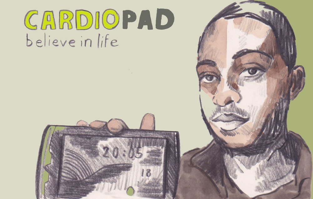 18/03/15At the age of 24 Arthur Zang a Cameroonian engineer developed Africa's first handheld medical computer tablet - the Cardiopad - which helps diagnose people with heart disease. Trials are currently taking place in hospitals in Cameroon