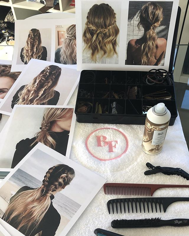 @thebeautyfriend Is teaming up with @heathermagidsohnconsulting to provide beautiful braids in a gorgeous showroom setting!  #BraidBar #braids #hairstyles #hair #thebeautyfriend