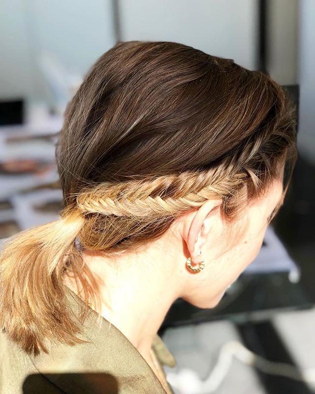 Sunday vibes • fishtail braid •