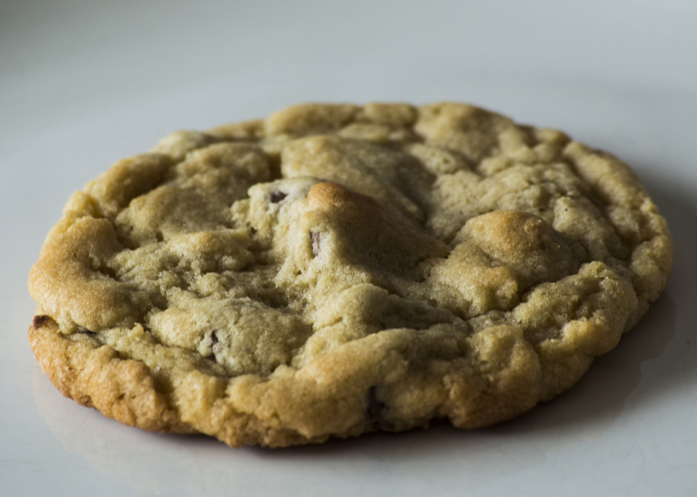 Belgian Chocolate Chip The classic cookie filled with Callebaut chocolate chips.