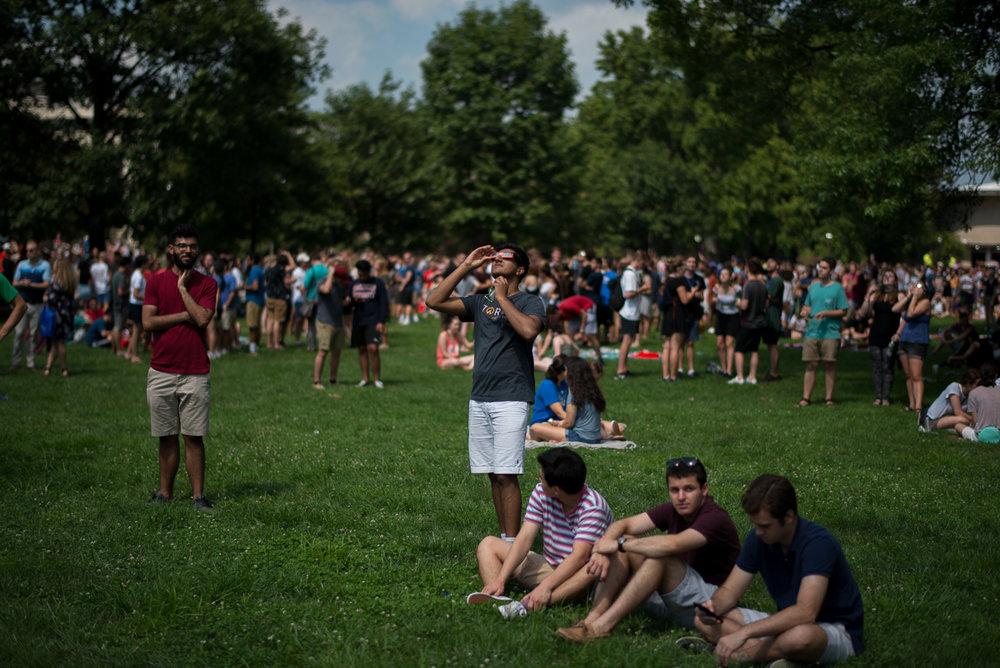 Eclipse 2017 American University, Washington DC