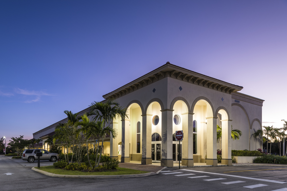 Full Architectural Services for Open Bible Church & Sunday School, Cooper City, FL