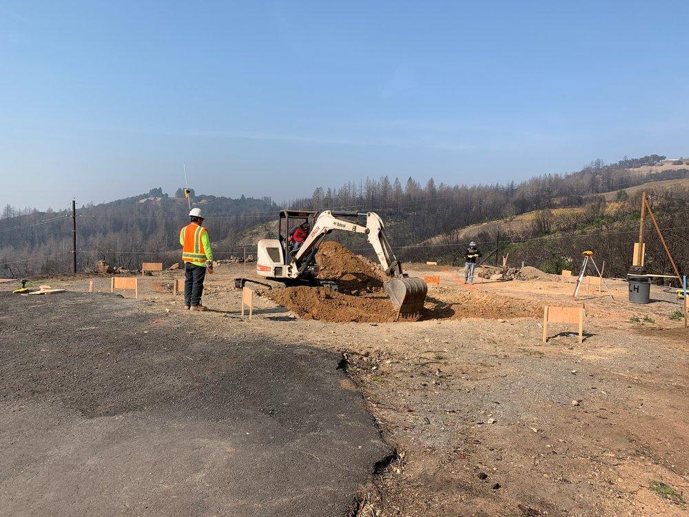 Excavations underway