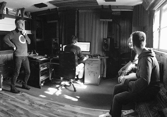 Editing room. #blue5 #recordingsession