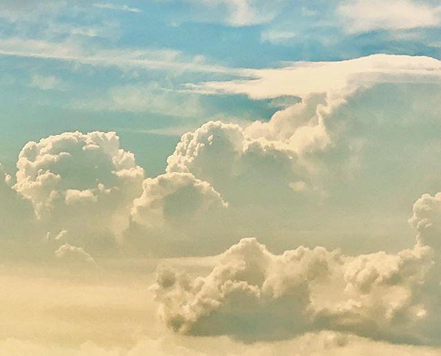 #clouds #summer #sky #sunset #warmlight