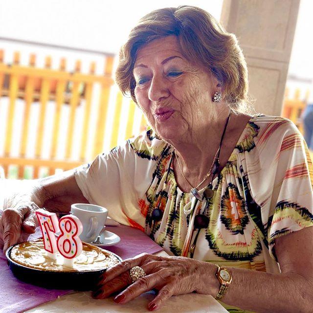 How is turning 87? Happy B Grandma! #birthday #grandmother #love