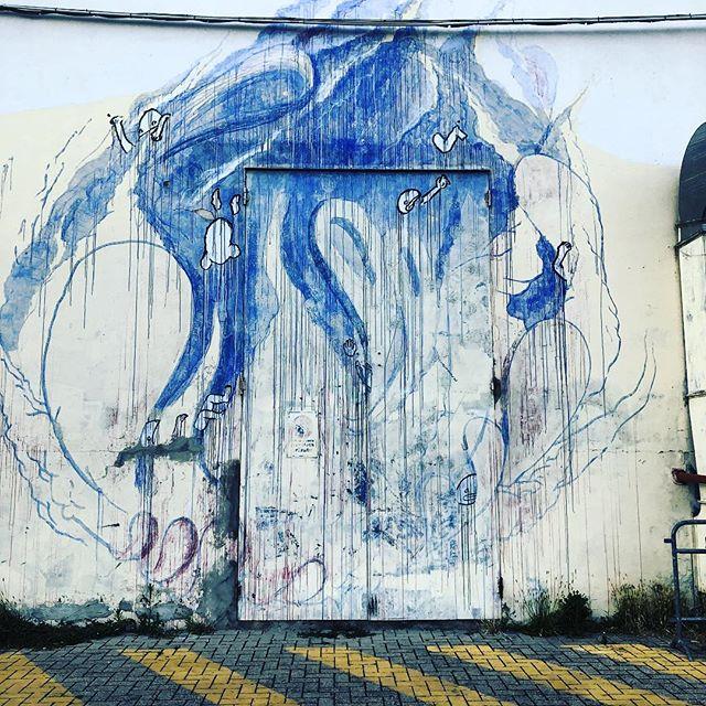 Tonight some blues. #murales #streetart #graffiti