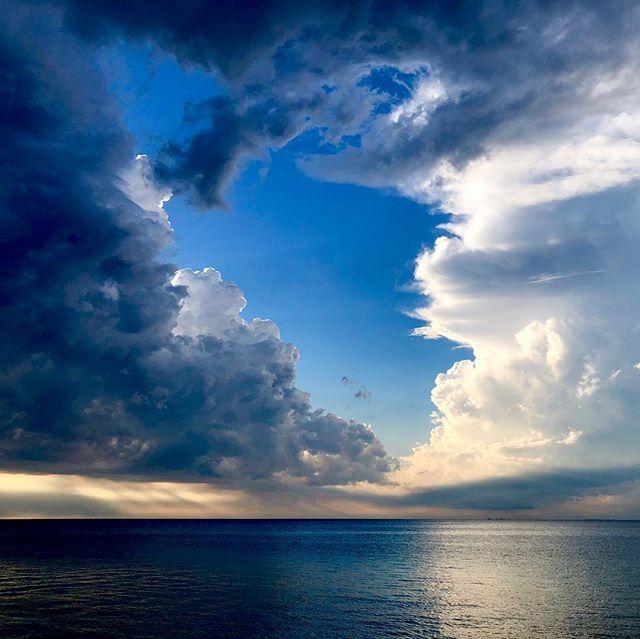 #lighthouse #storm #sky #skyporn #sunset #rain #clouds