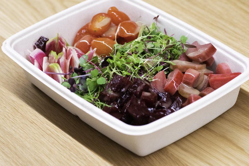 Harvest2Order custom salad.