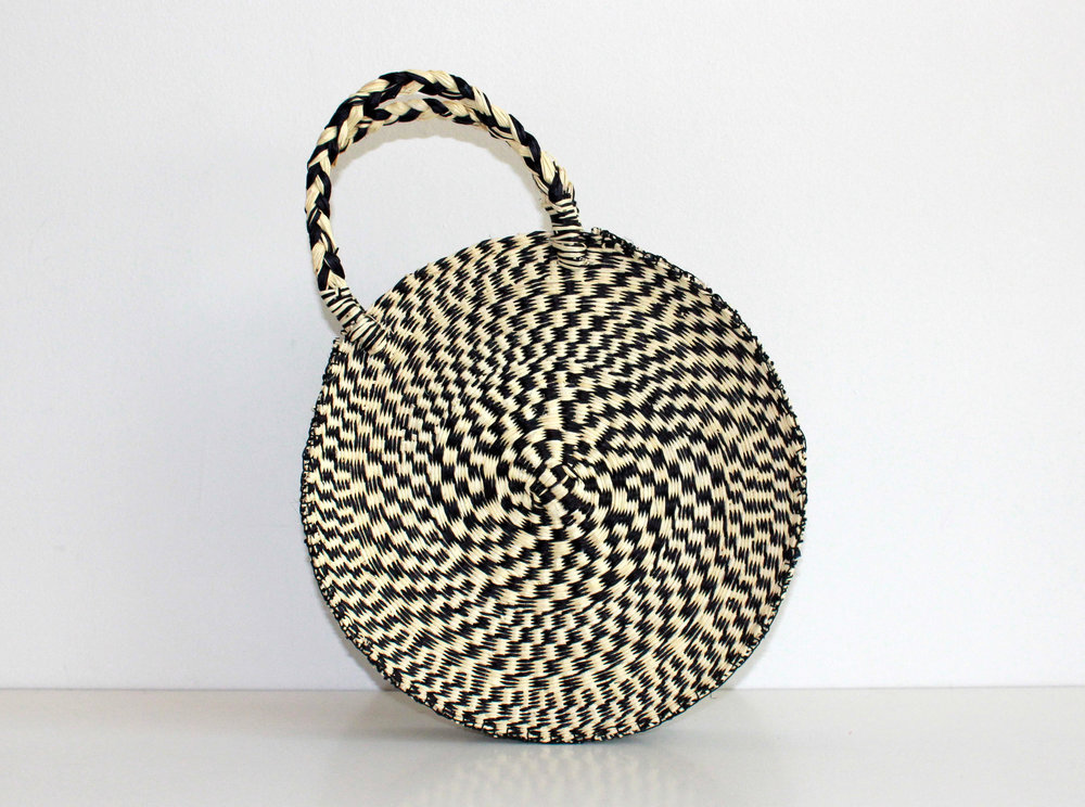 One of Back to Basil's summer must-haves!  The Circular Bag  from Shicato, handwoven in Ecuador. // $142