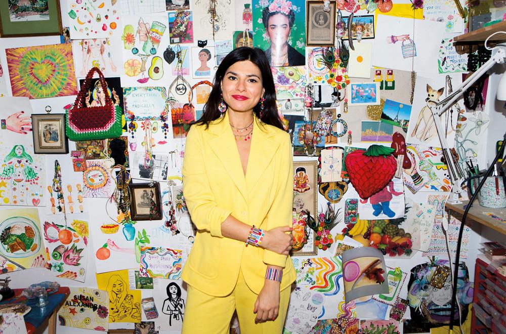 Susan Alexandra, designer, pictured above. Image c/o susanalexandra.com