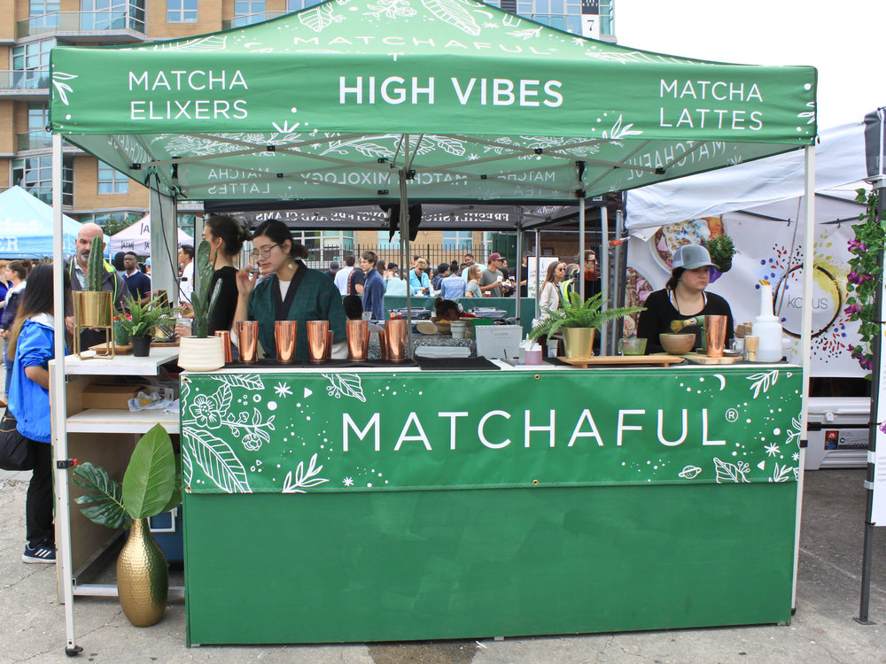 Matchaful at Smorgasburg.