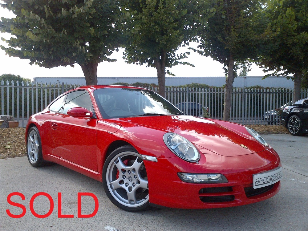 Porsche 911 Carrera 2S, Tiptronic, 05, 35,000 miles, Guards Red, Black leather interior  £ SOLD