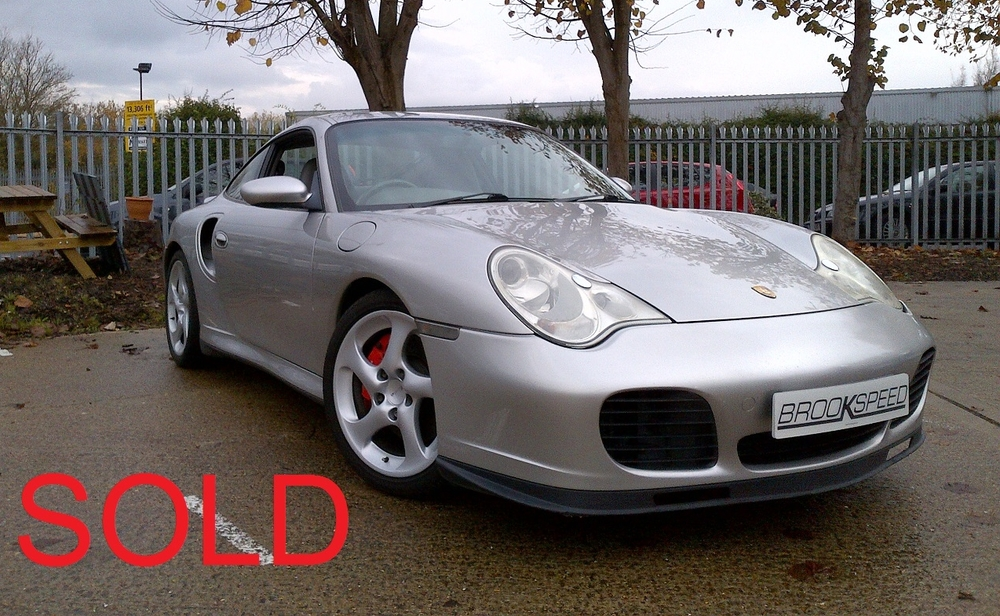 Silver Porsche 911 996 Coupe 3.6 Turbo, 71300 miles SOLD.