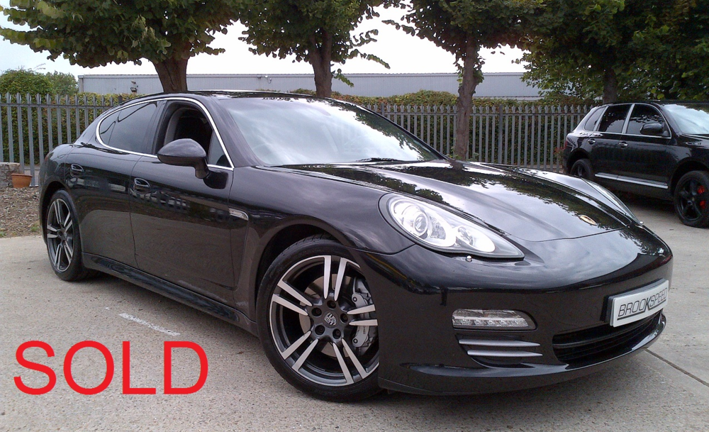 Porsche Panamera 4.8 4S PDK, Oct 2010, Black leather 28,000 miles  SOLD