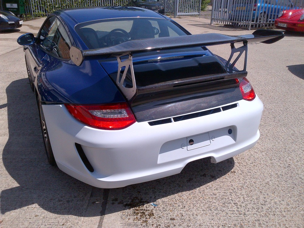Brookspeed 997 C4S Rear bumper Upgrade