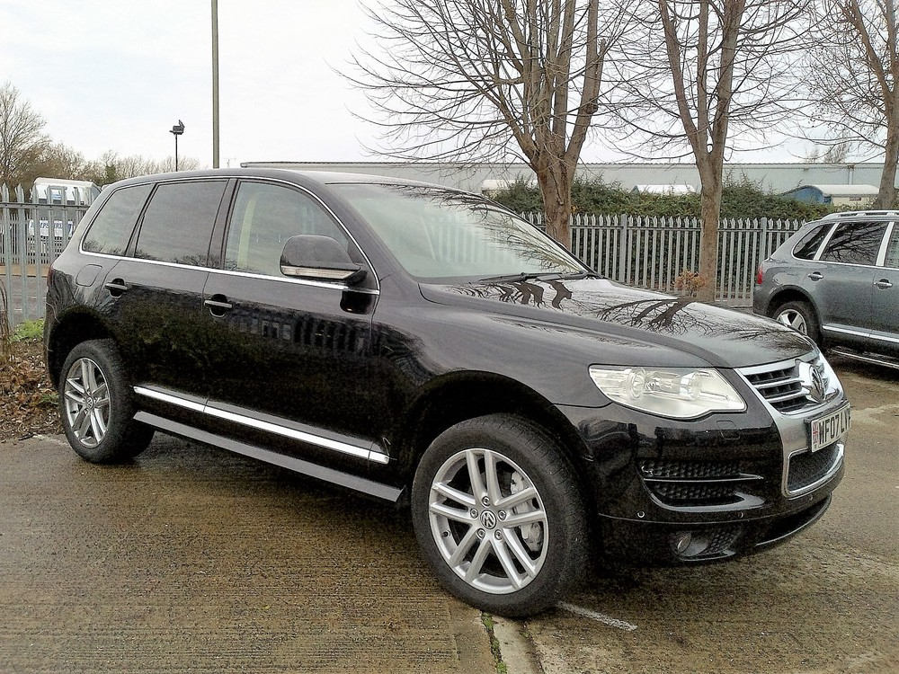 VW Touareg 3ltr Diesel Altitude, Diamond Black with Cream leather, 67,565 miles,  SOLD
