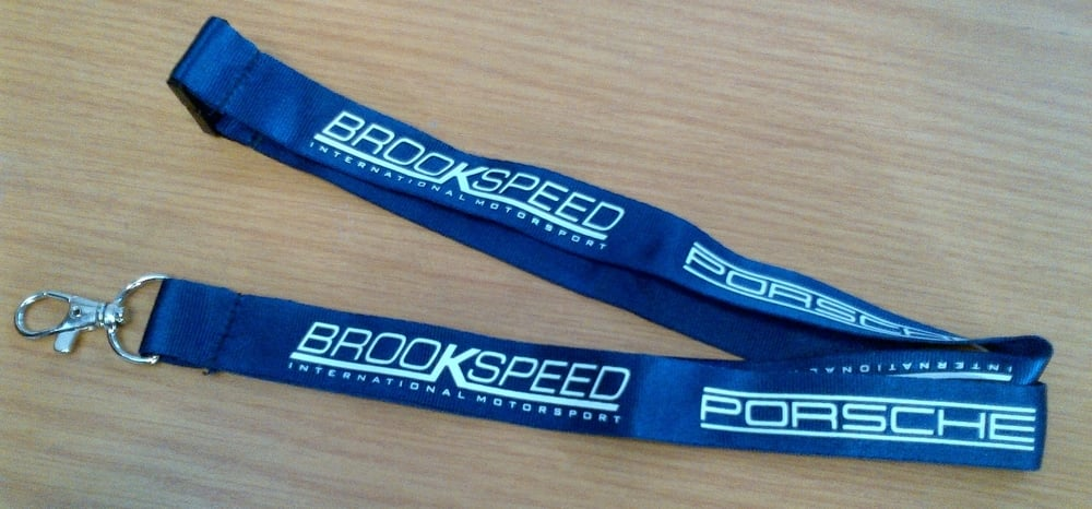 Brookspeed Navy Blue Lanyard, £2.99