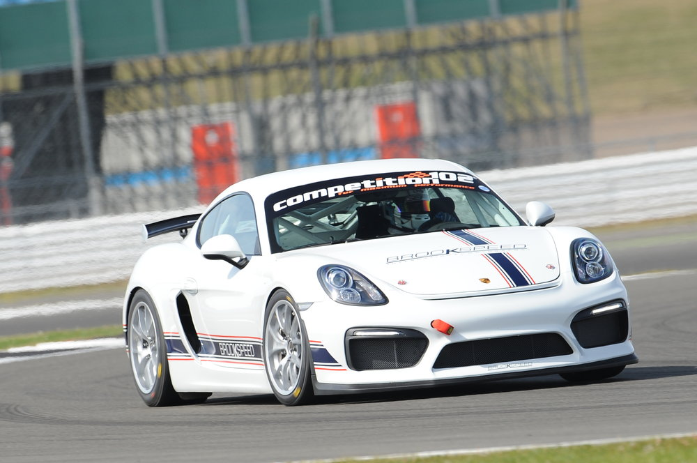 BROOKSPEED PORSCHE CAYMAN GT4 CLUBSPORT MR