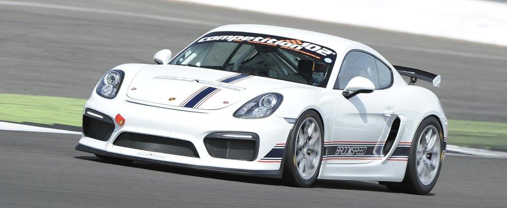 Porsche Cayman GT4 Trackday