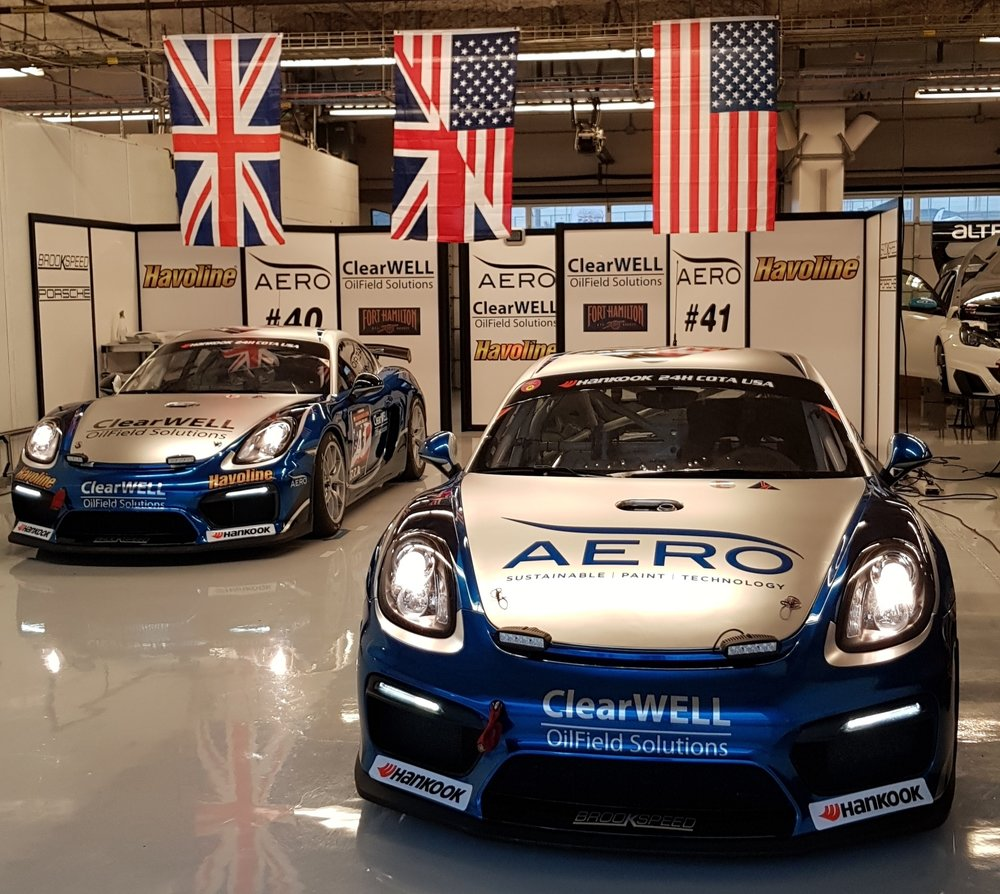 Brookspeed Porsche Cayman GT4 Clubsport MR's available for Creventic 24hSeries.