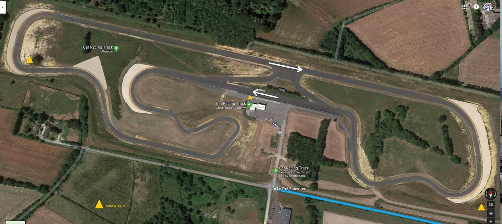 Circuit Fay de Bretagne. 9th and 10th July 2019