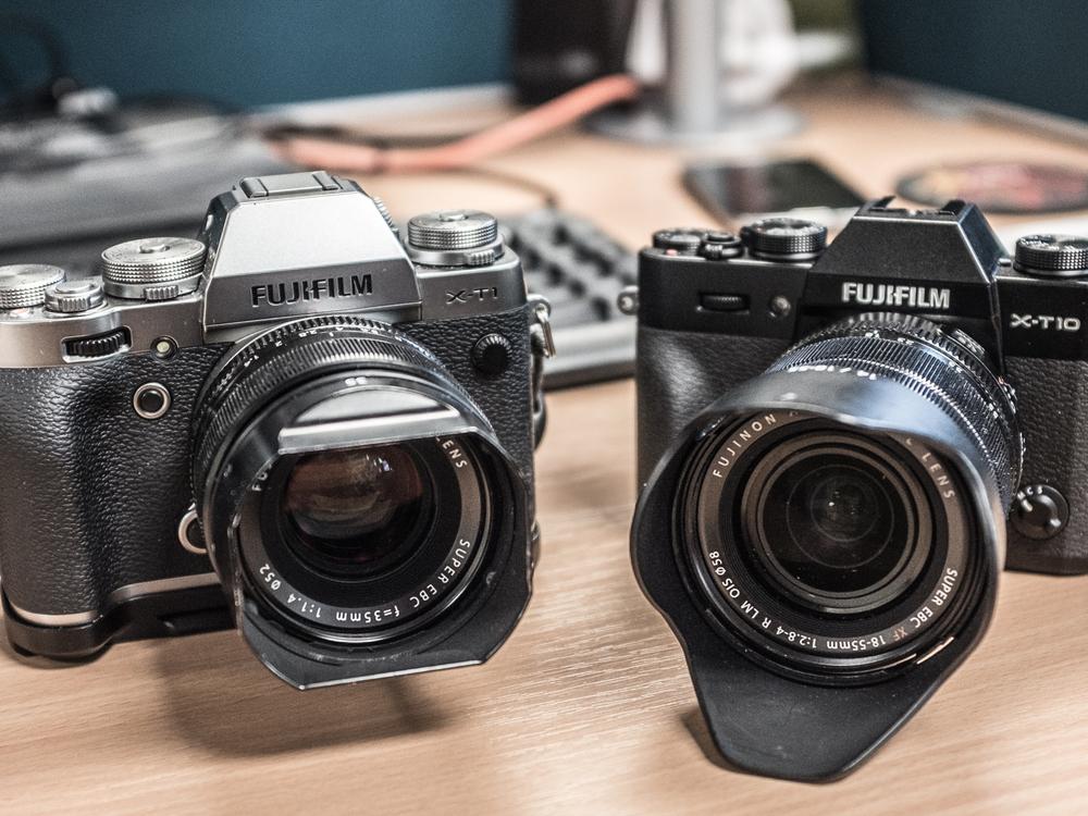 Fuji X-T1 & Fuji X-T10