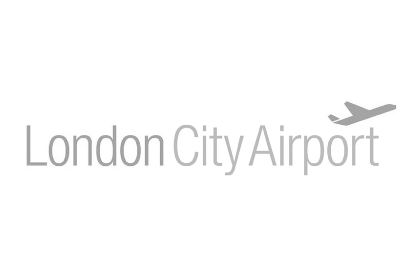 London City Airport B+W.png
