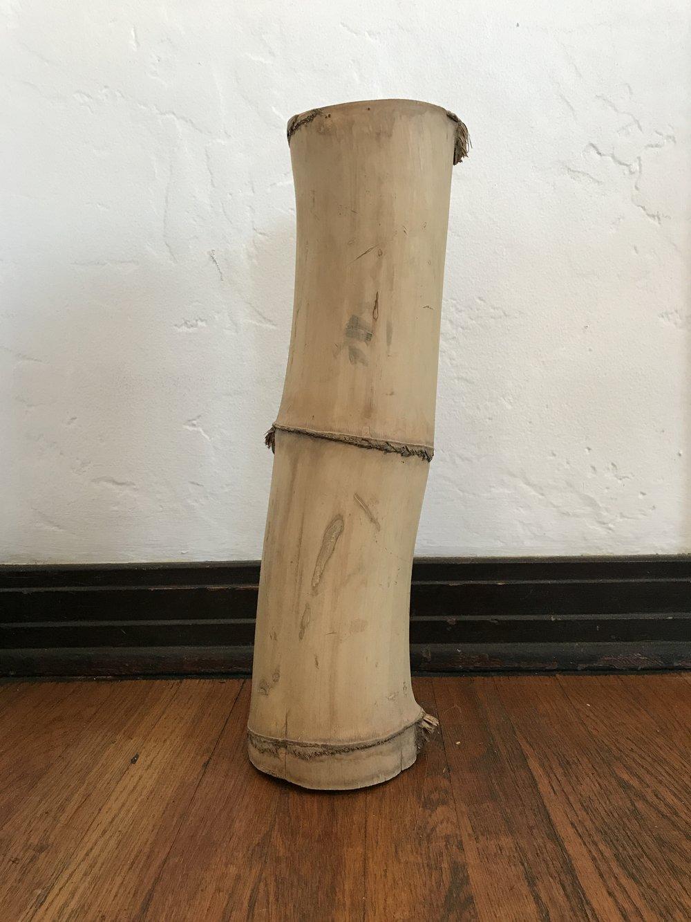 Bamboo refuse taken from MAK Center, Schindler House