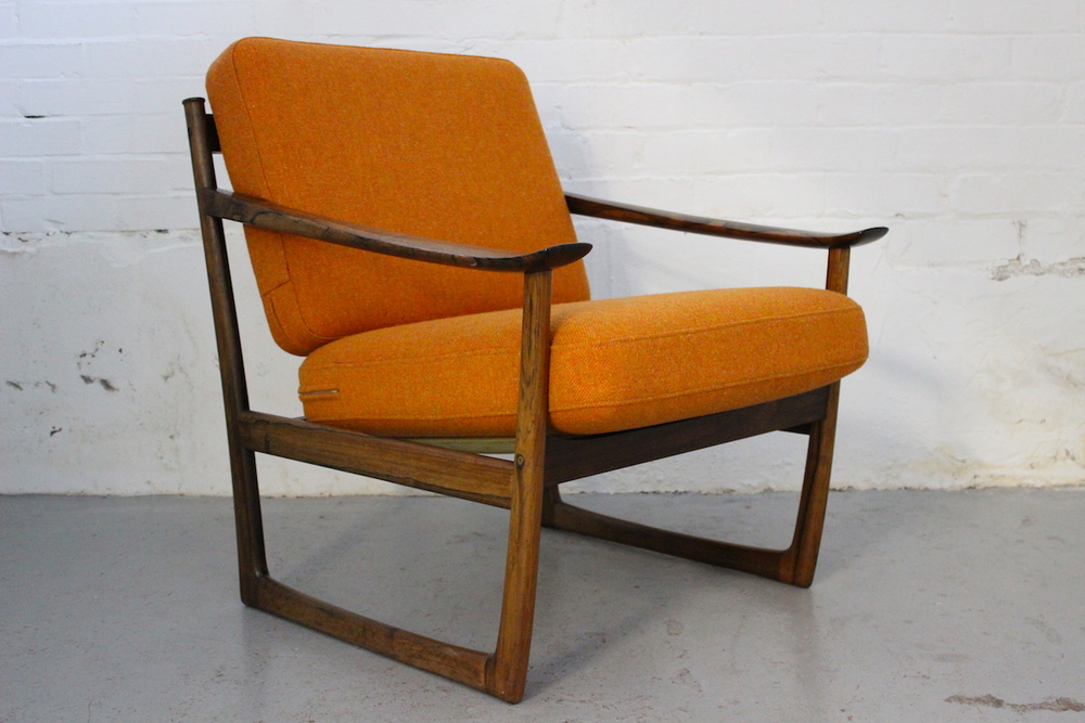 Peter Hvidt & Orla Molgaard Nielsen lounge chair model 130