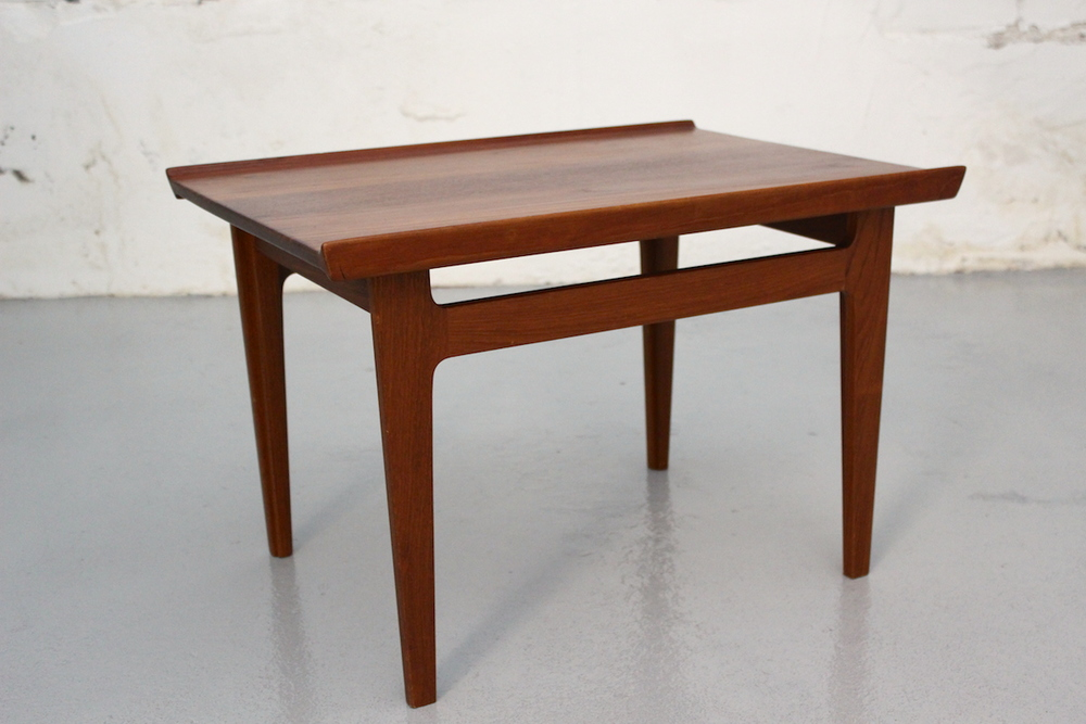 Finn Juhl teak side table - France & Son