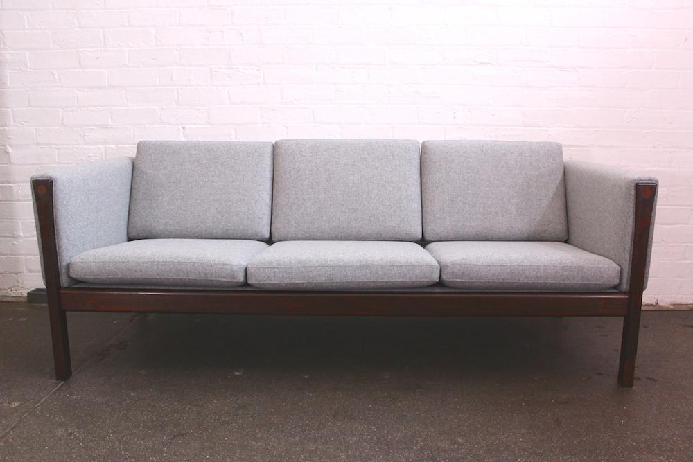 Hans Wegner rosewood sofa - AP62 - AP Stolen - Johannes Hansen