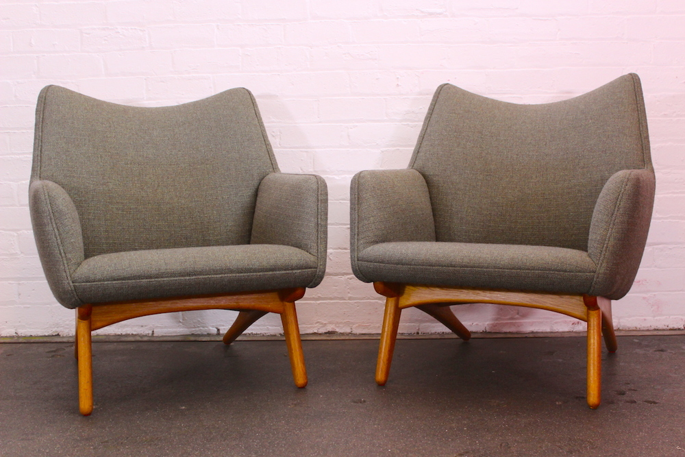 Pair of Illum Wikkeslo lounge chairs