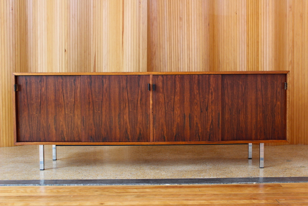 Florence Knoll rosewood sideboard