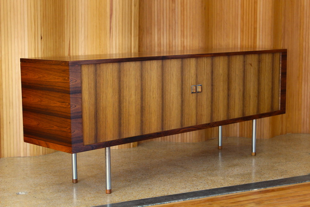 Hans Wegner rosewood 'President' sideboard - RY25 - Ry Mobler, Denmark.