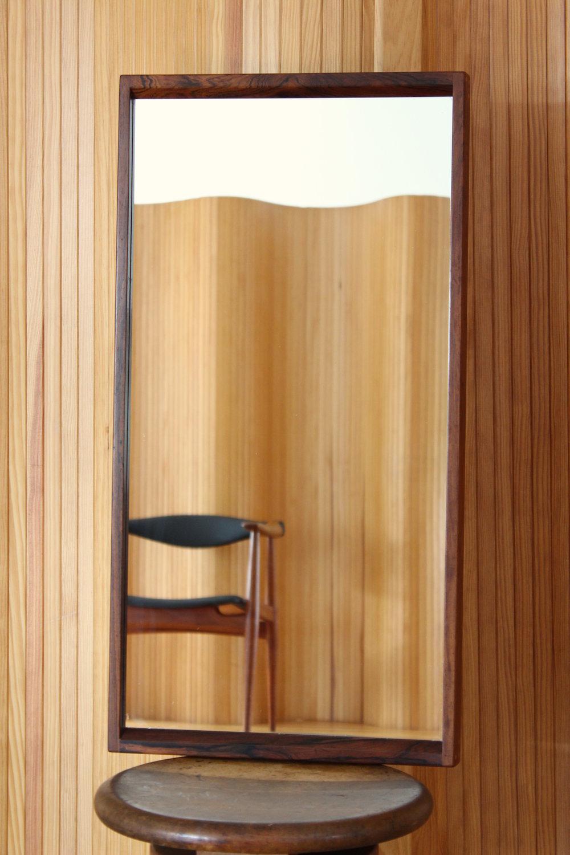Aksel Kjersgaard / Kai Kristiansen rosewood wall mirror